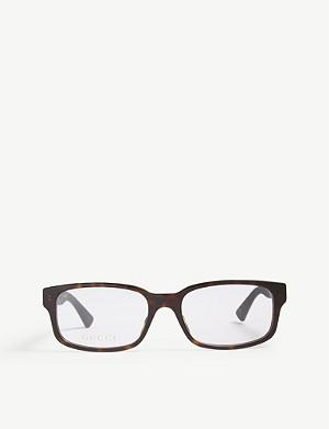 1635d057882a8 GUCCI - GG0272O tortoiseshell rectangle glasses