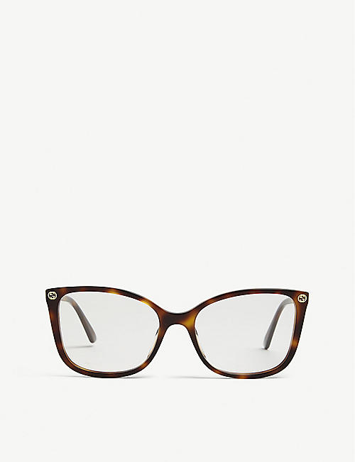 a6bcbecbcf1 GUCCI GG0026O square-frame glasses. Quick view Wish list