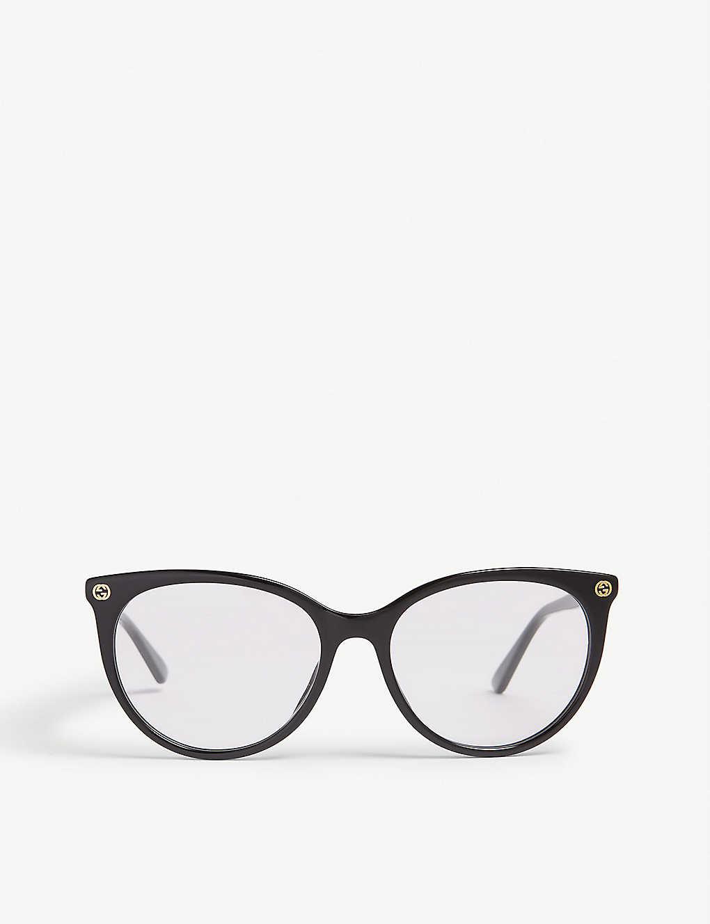 f05884d1f GUCCI - GG0093O cat-eye-frame glasses   Selfridges.com