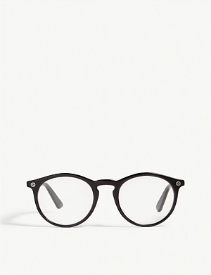 GUCCI GG012O phantos-frame glasses