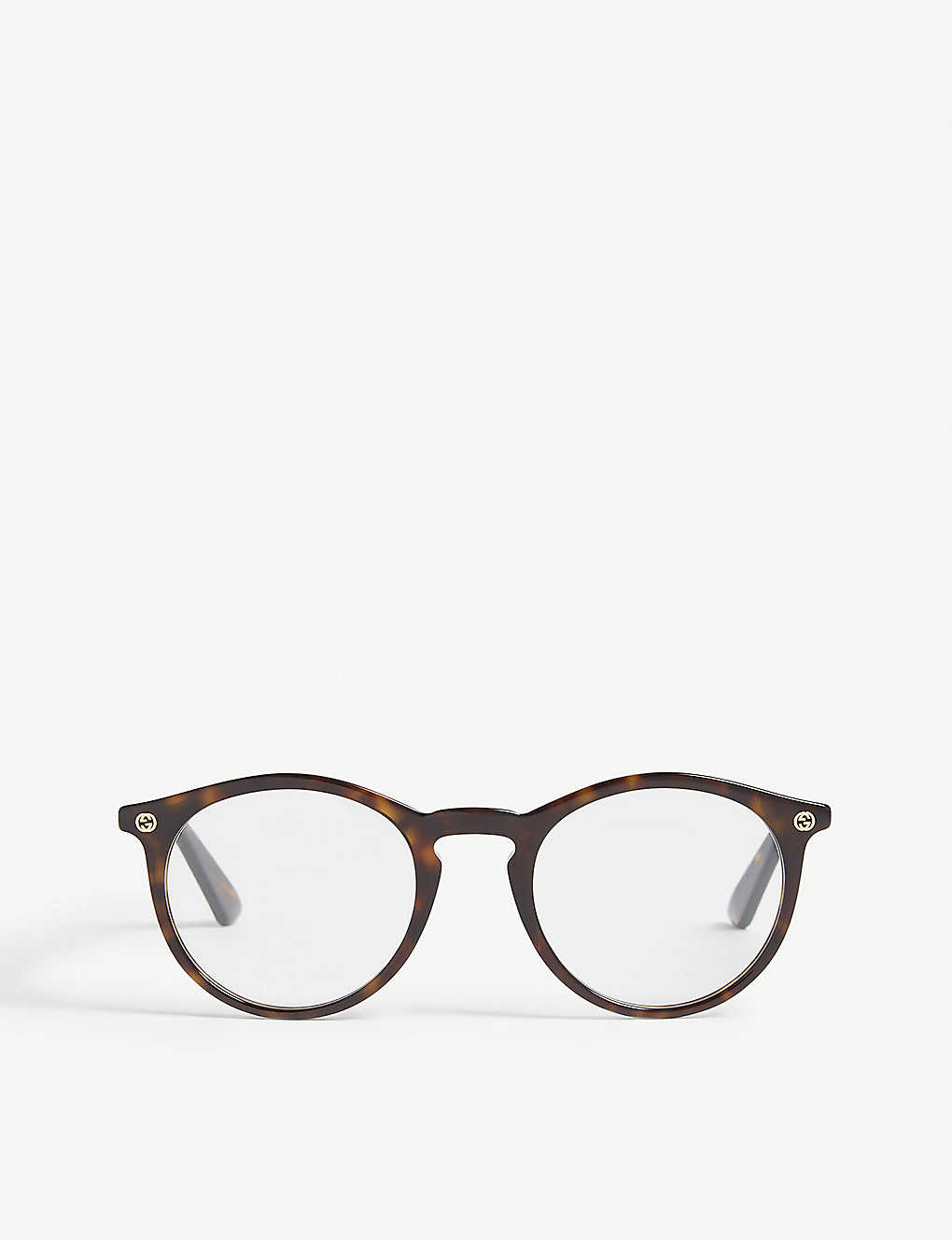 e410415b7ba3 GUCCI - Havana Gg0121o round-frame optical glasses | Selfridges.com