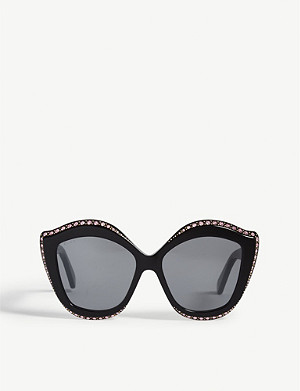 GUCCI GG0188S cat-eye frame sunglasses