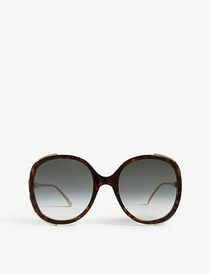 GUCCI GG0226s oval-frame sunglasses