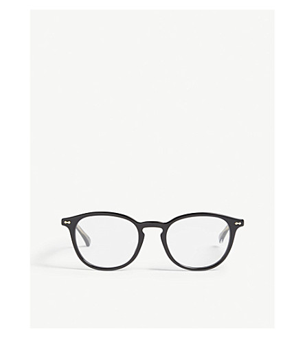 48b2663f305 GUCCI GG0187O round-frame glasses (Black
