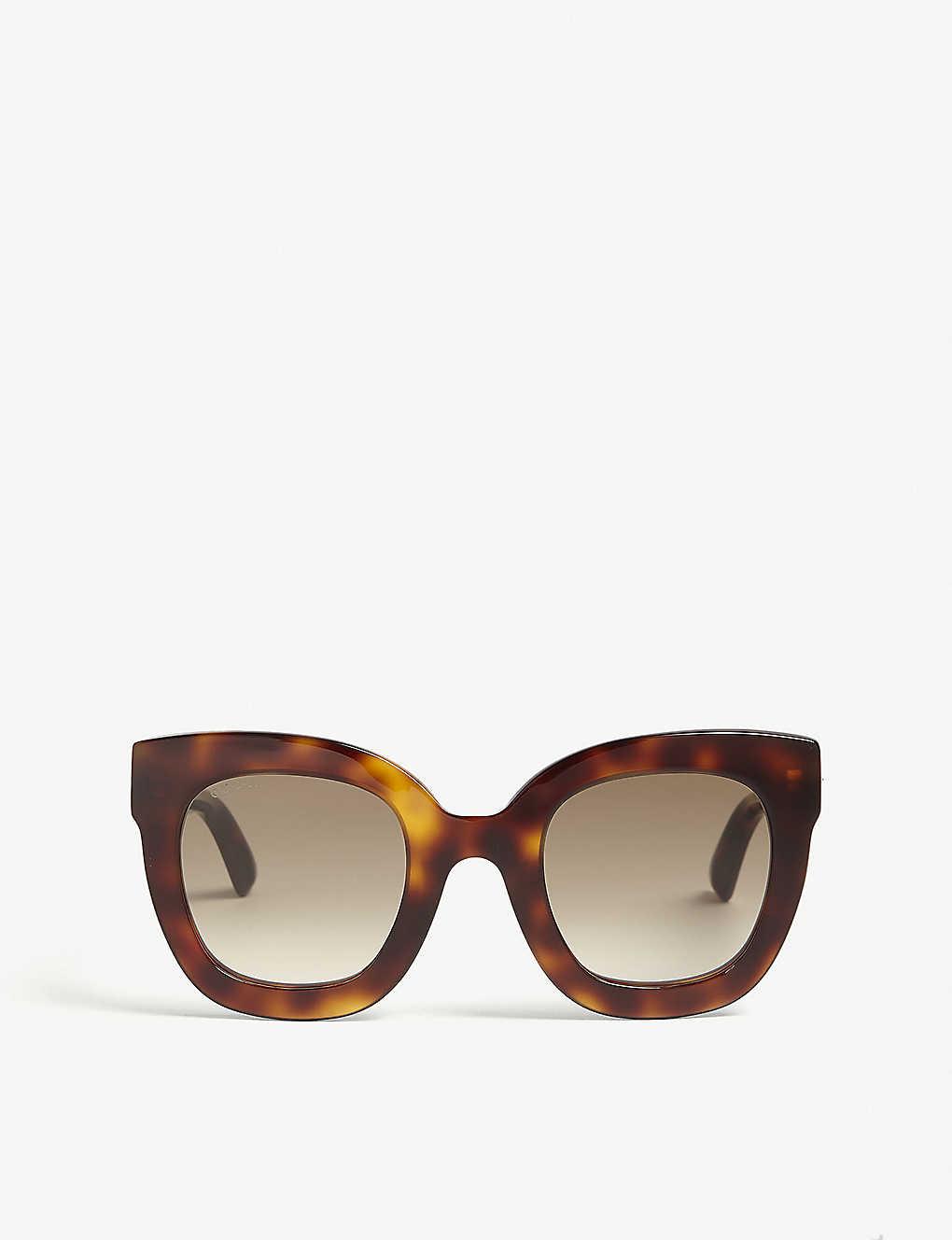 fa751eb311 Gg0208 oval-frame sunglasses