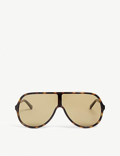 470bb1cb842 GUCCI GG0199S pilot-frame sunglasses. Quick view Wish list