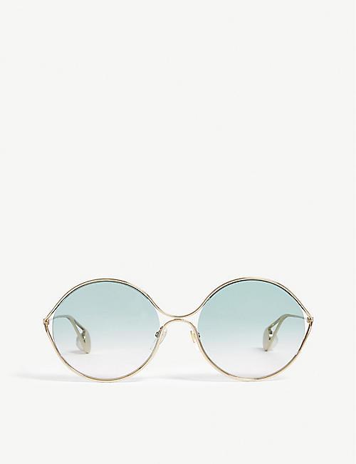 5bae072966 Round - Sunglasses - Accessories - Womens - Selfridges