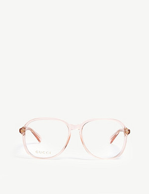 GUCCI GG0259O oval optical glasses
