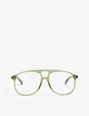 GUCCI GG02640 pilot optical glasses