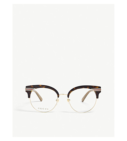 678745dd8e1 GUCCI GG0285O round glasses (Gold