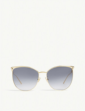 BOUCHERON BC0058S cat-eye-frame sunglasses