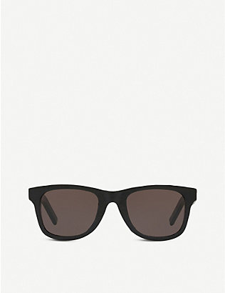 SAINT LAURENT: SL51 acetate square-frame sunglasses