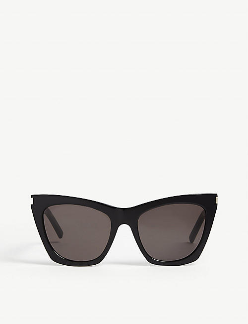 SAINT LAURENT: SL214 Kate cat-eye-frame sunglasses