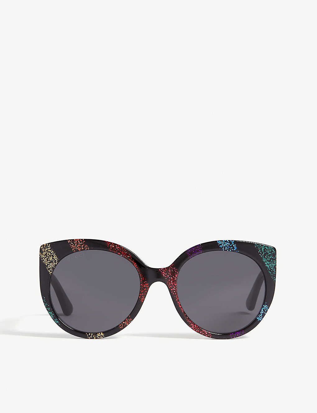 94e7c03f94c11 GUCCI - Gg0325s glitter cat-eye frame sunglasses