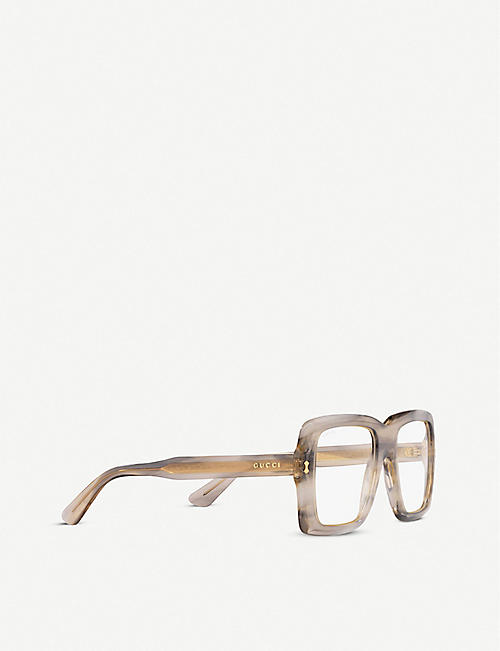 GUCCI Gucci GG0366S oversized acetate sunglasses