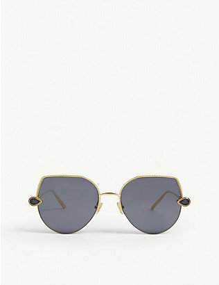 BOUCHERON: BC0065 cat-eye-frame sunglasses