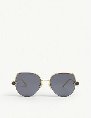 BOUCHERON BC0065 cat-eye-frame sunglasses