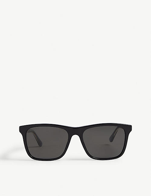 GUCCI: GG0381 square-frame sunglasses