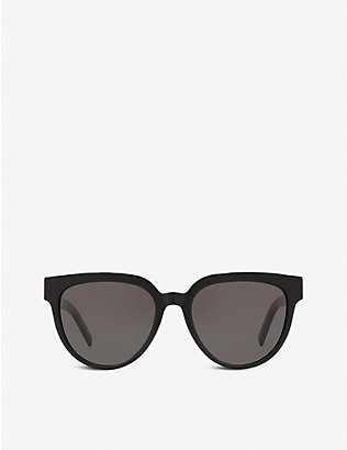 SAINT LAURENT: SL M28 acetate cat-eye sunglasses