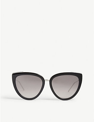 BOUCHERON: BC0077S cat-eye-frame sunglasses