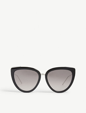 BOUCHERON BC0077S cat-eye-frame sunglasses