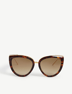 BOUCHERON Oversized cat eye sunglasses