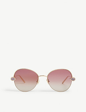 BOUCHERON Serpent Bohème aviator-frame sunglasses