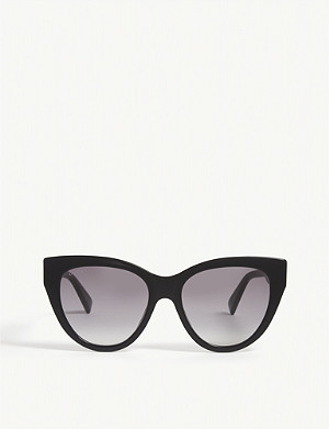 GUCCI GG0460S cat-eye-frame sunglasses
