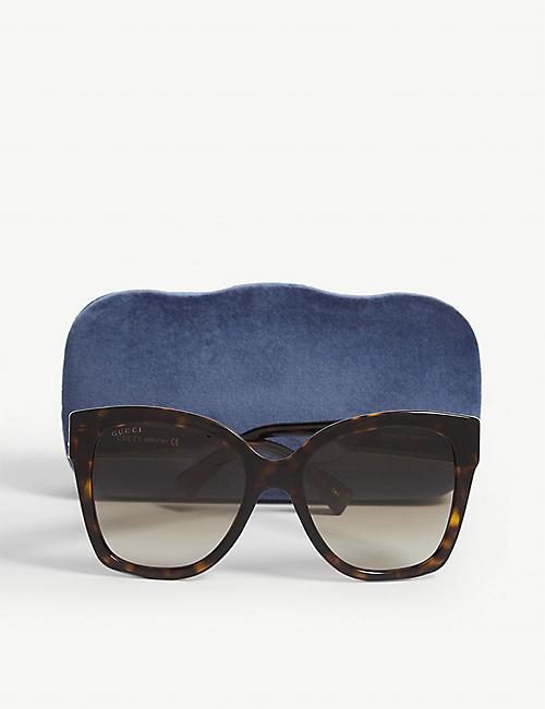 ff86dc46 GUCCI - Sunglasses - Accessories - Womens - Selfridges   Shop Online