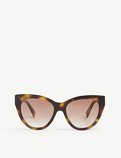 708cb535165d GUCCI - Cat eye - Sunglasses - Accessories - Womens - Selfridges ...