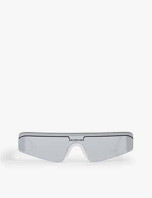 BALENCIAGA BB0003S rectangle-frame sunglasses