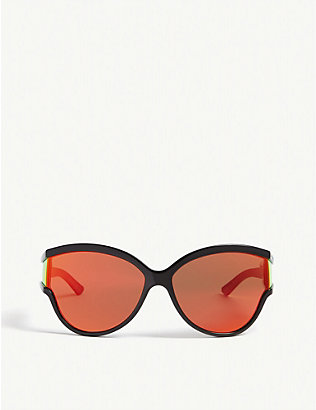 BALENCIAGA: BB0038S cat-eye-frame sunglasses