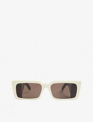 GUCCI GG0543S rectangular acetate sunglasses