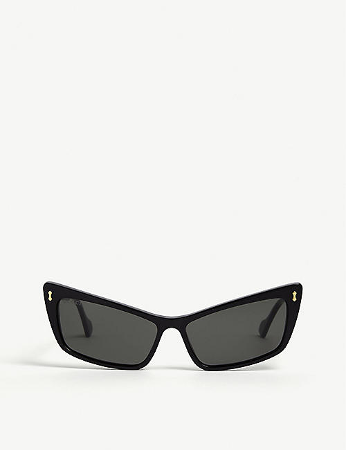 GUCCI: GG0626S cat eye-frame sunglasses
