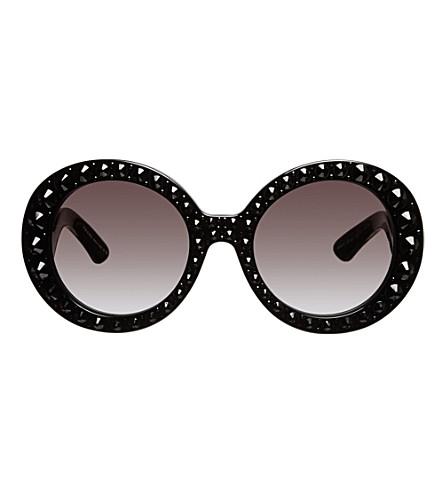 6ad22764882b Prada  baroque  Round Sunglasses Replica