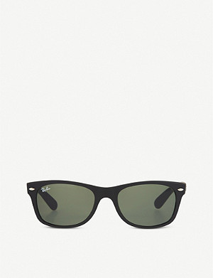 RAY-BAN Rubber Wayfarer sunglasses