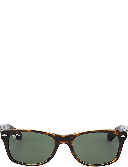 c094e7ce88a017 RAY-BAN Tortoiseshell wayfarer sunglasses RB2132 52