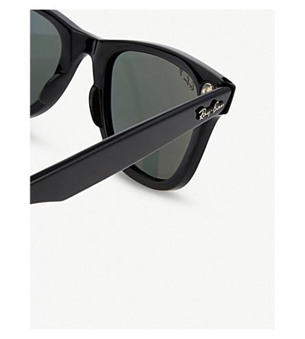 RAY BAN Sunglasses Black thick frame wayfarer sunglasses RB2140