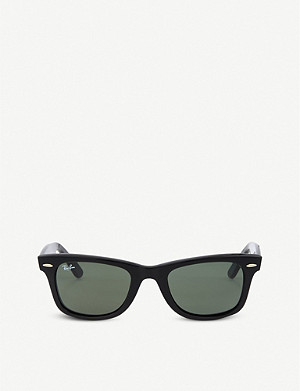RAY-BAN Black square sunglasses