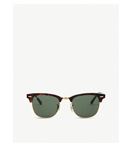 050b44093bd RAY-BAN - Tortoise shell clubmaster sunglasses RB3016 49 ...