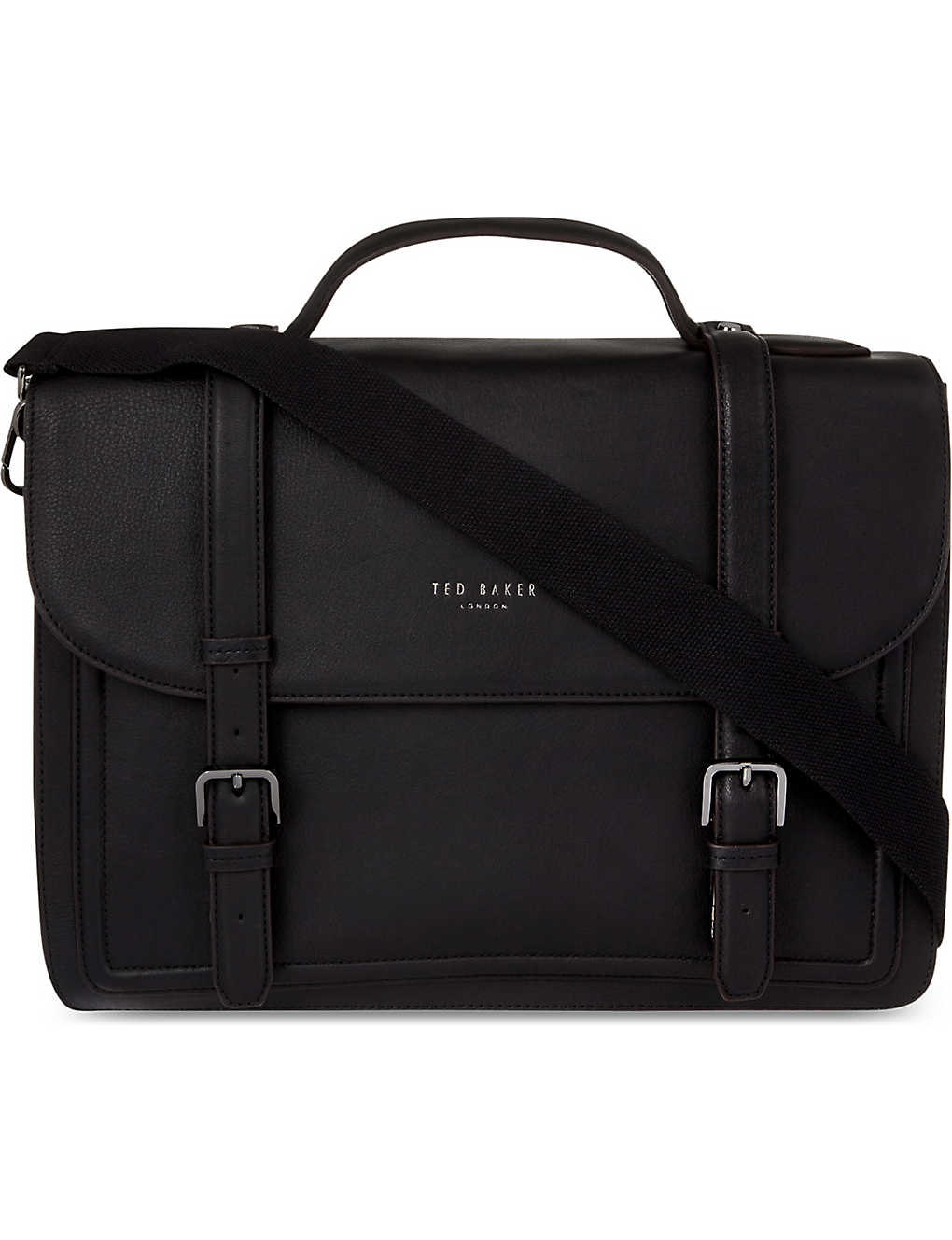 TED BAKER: Jagala leather satchel