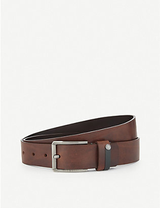 TED BAKER: Keepsak leather belt