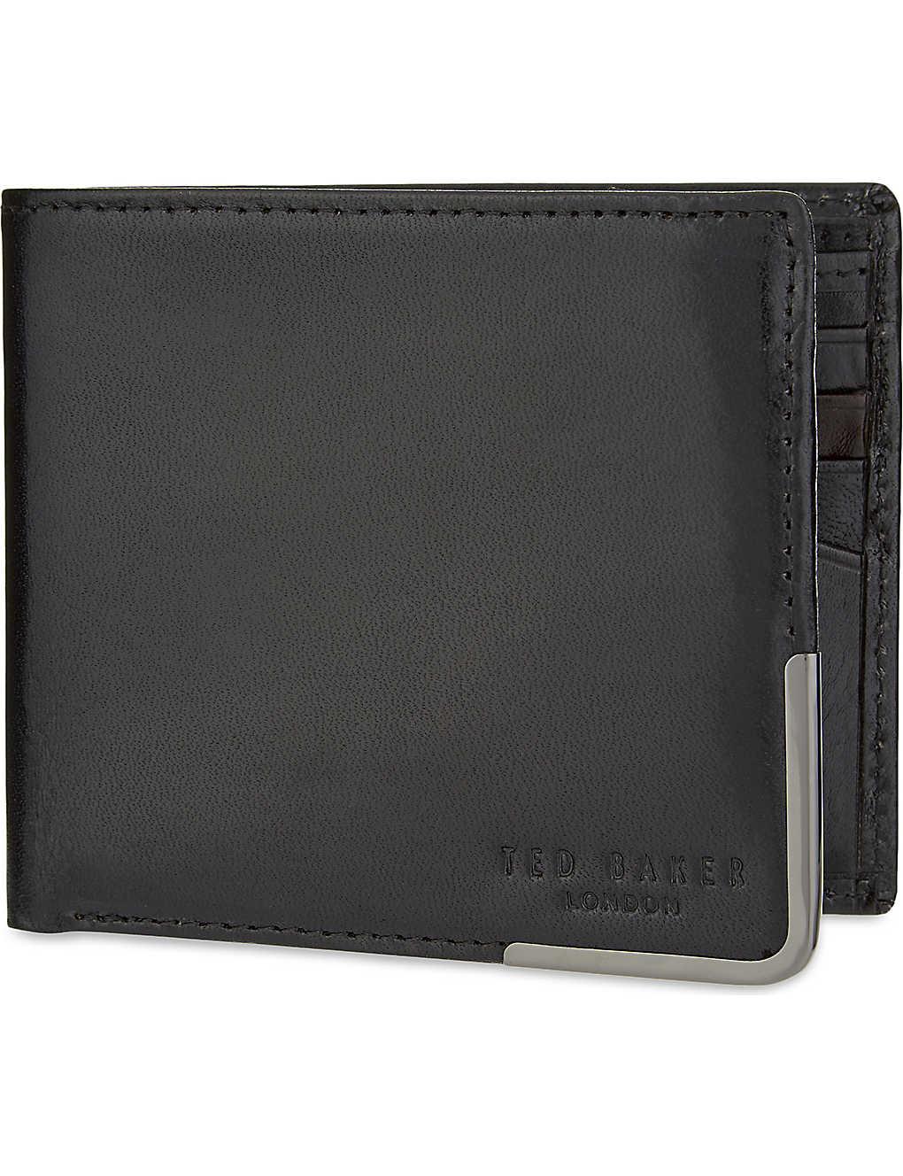 51ba89ac1f TED BAKER - Breeze leather wallet   Selfridges.com