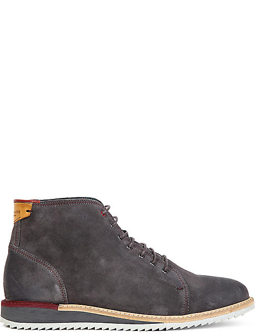 TED BAKER: Odaire suede ankle boots