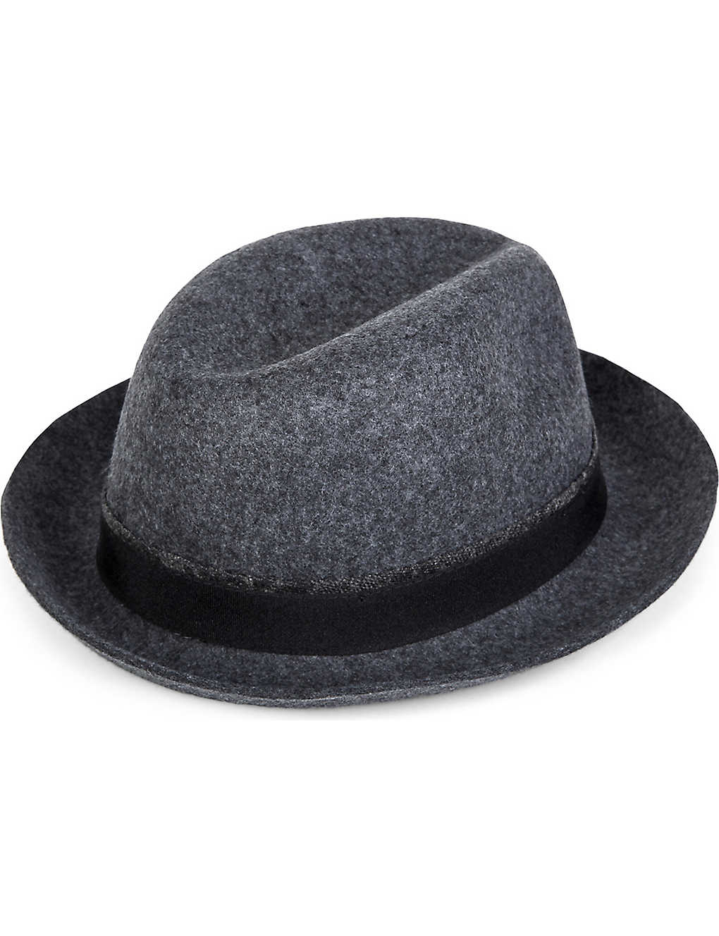 2cc685150eab3 TED BAKER - Hattie contrast band fedora hat