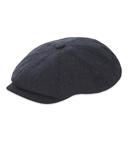 ... TED BAKER Newbe textured baker boy cap (Navy. PreviousNext f4152518f09