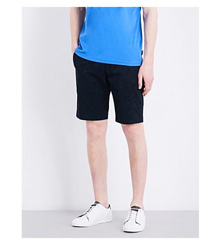 e853ac17e6aaa TED BAKER - Floral stretch-cotton shorts | Selfridges.com