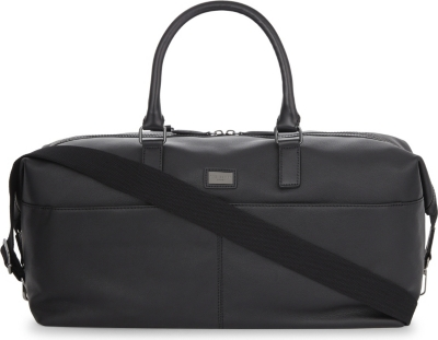 44b160fb00f5 TED BAKER - Tiger leather holdall