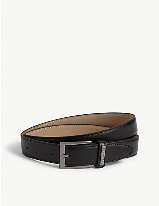 TED BAKER: Lizwiz leather belt