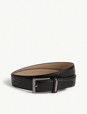 TED BAKER Lizwiz leather belt